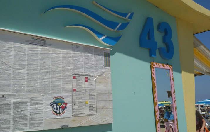 Bagno Onda 43 a Rimini