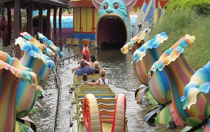 Fiabilandia parco divertimenti sulla  Riviera Romagnola