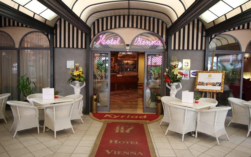 Hotel Vienna Hostenda a Rimini