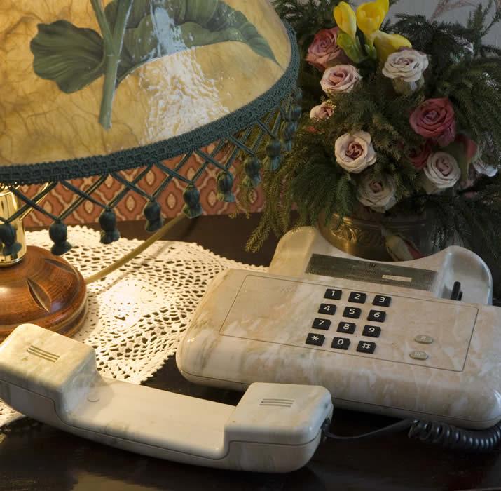 Telefono in camera Hotel Vienna Ostenda